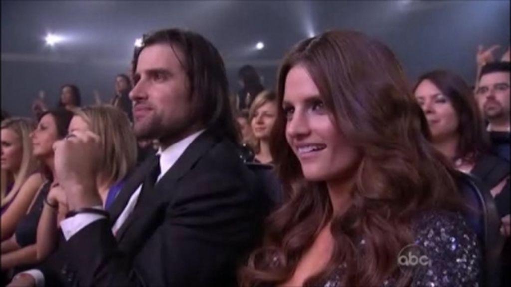 Stana Katic y su marido