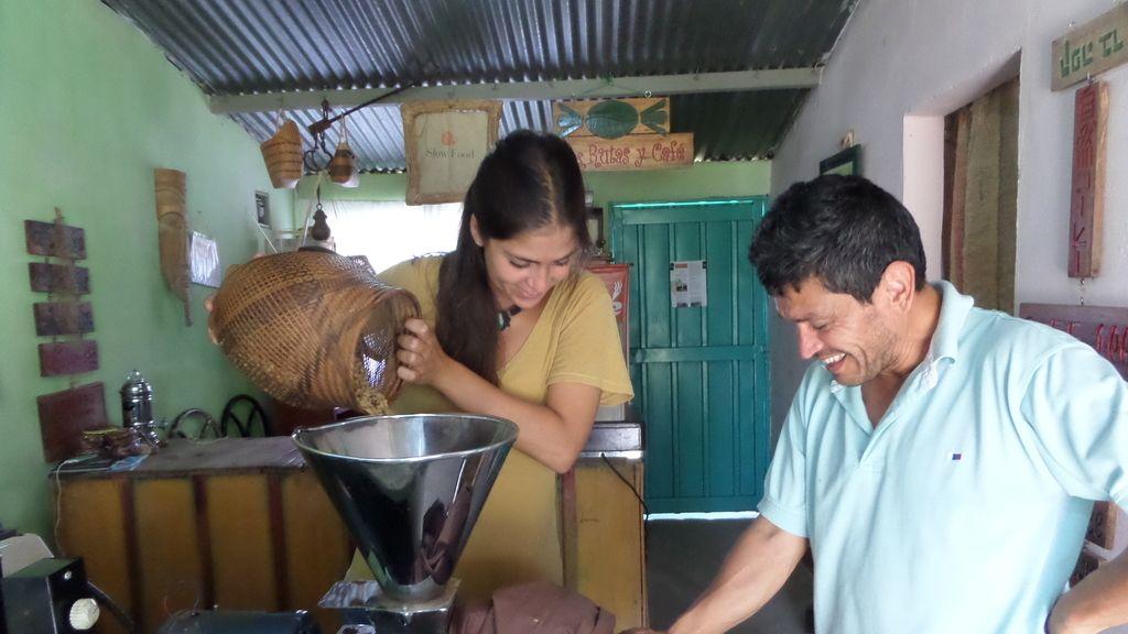 Fabricando café