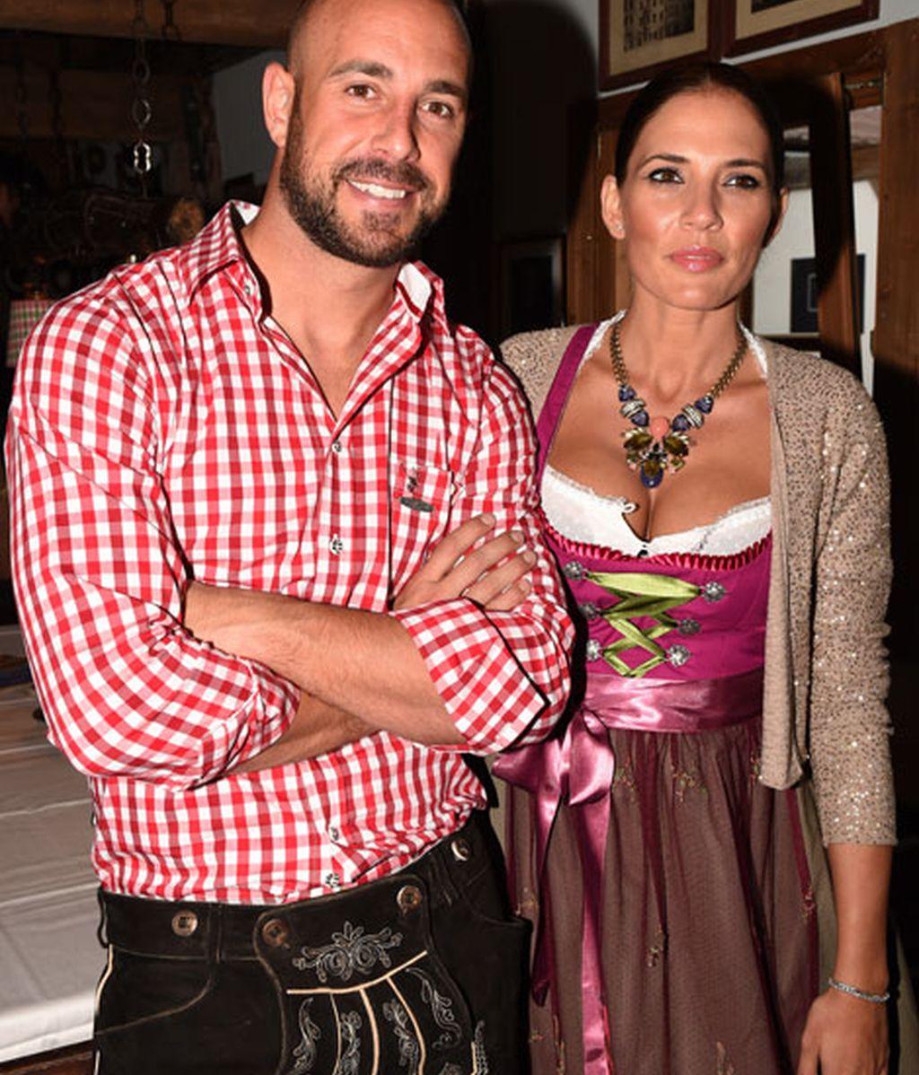 Pepe Reina y su mujer esperan su quinto hijo