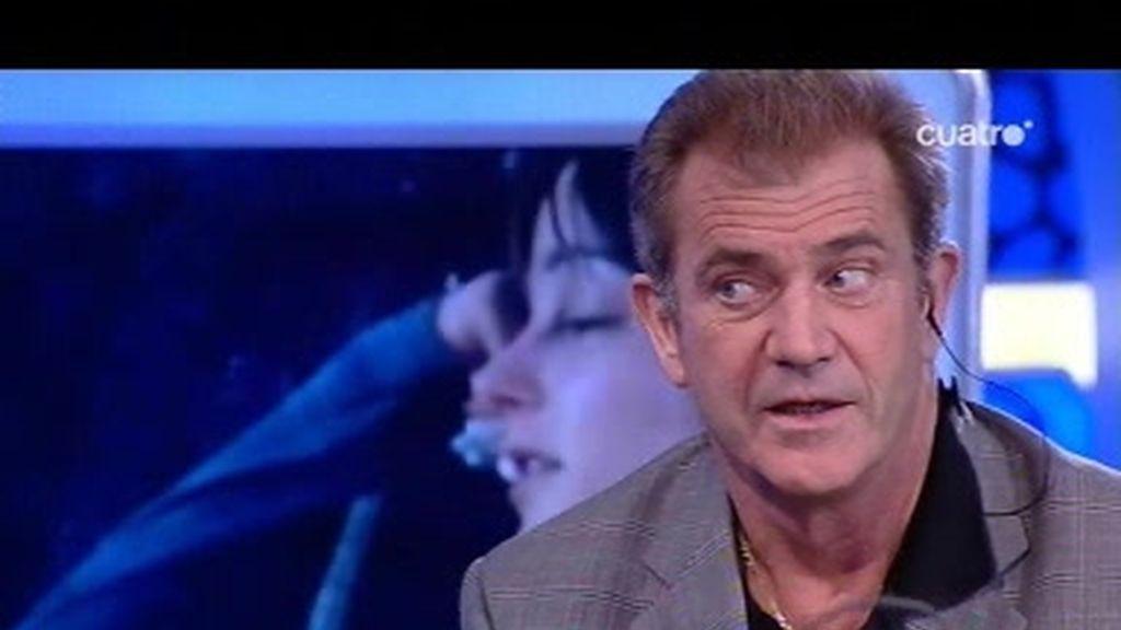 Mel Gibson ante el MegGibsonizador con Trancas y Barrancas