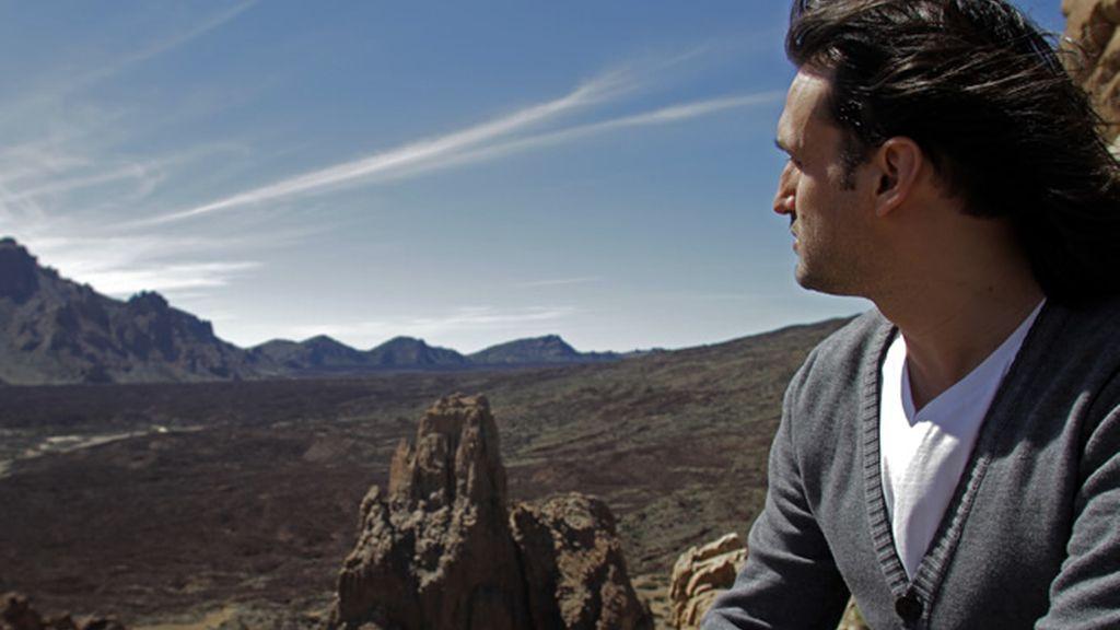 Rafa Méndez ha elegido mostrarnos las vistas de El Teide