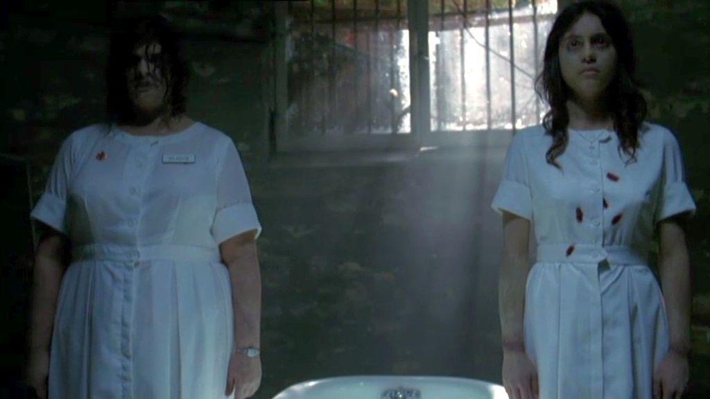 Las enfermeras María y Gladys