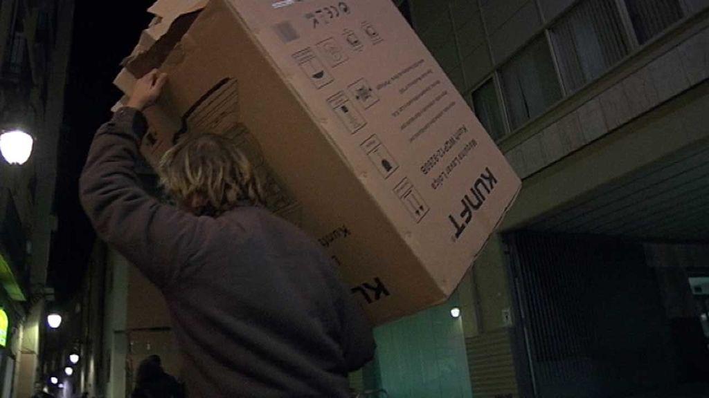 'Callejeros' se instala en 'Casas de Cartón'