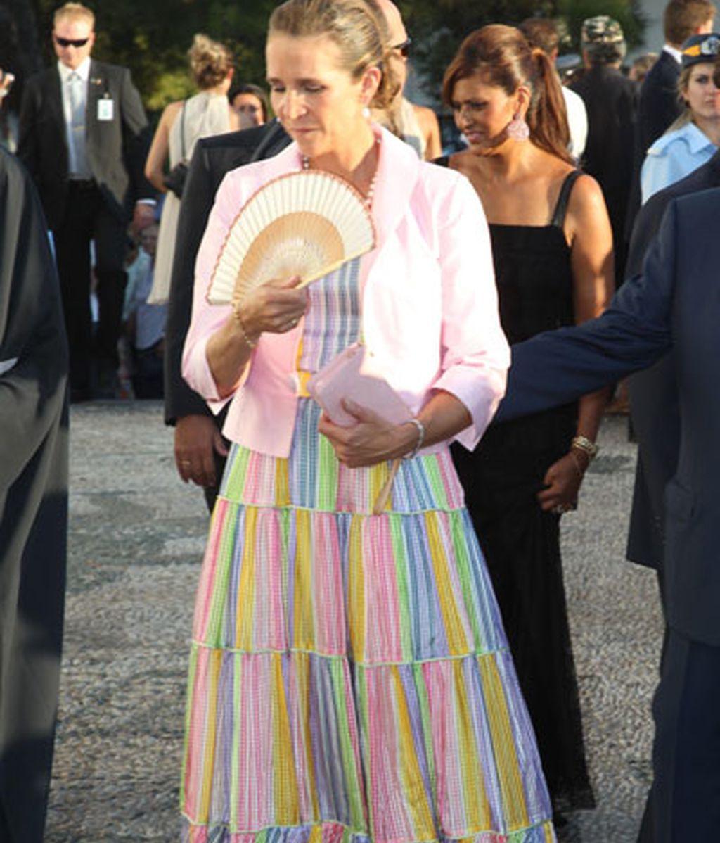 Letizia Ortiz se viste de griega