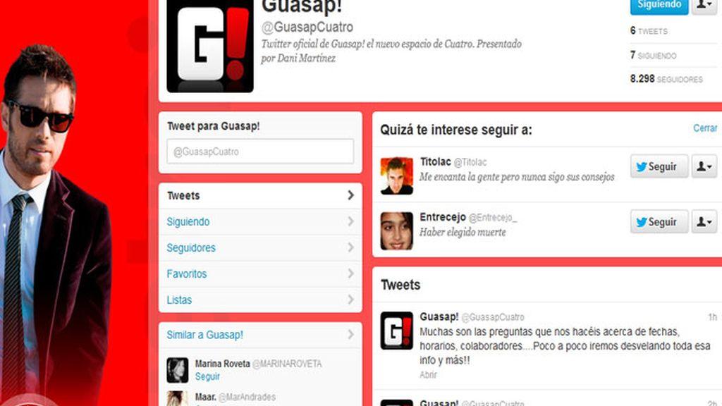 Guasap! ya está en Twitter
