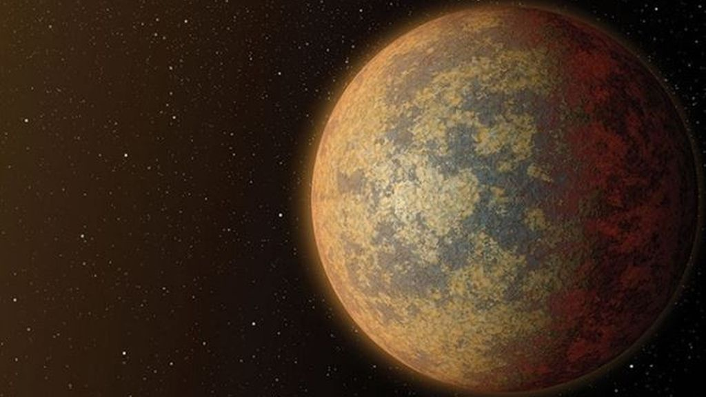 Descubren el mayor planeta rocoso, 16 veces más masivo que la Tierra