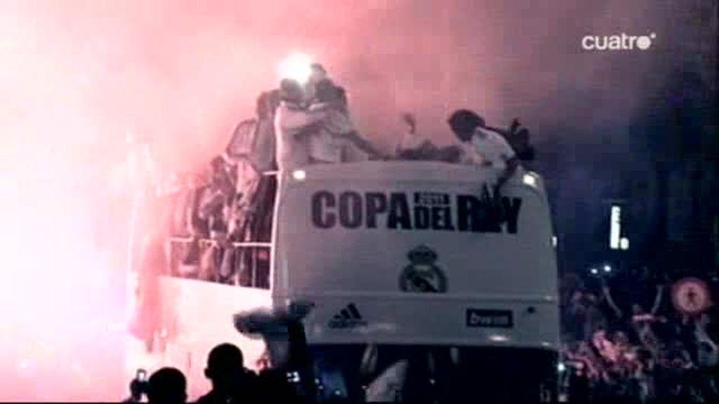 A Sergio Ramos se le cayó la Copa