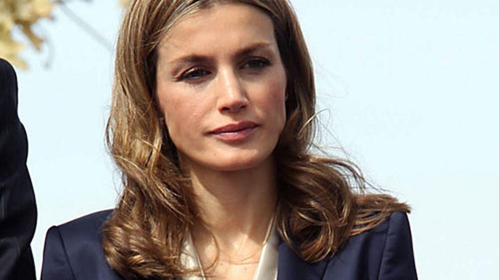 La princesa de Asturias, en su última aparición pública.