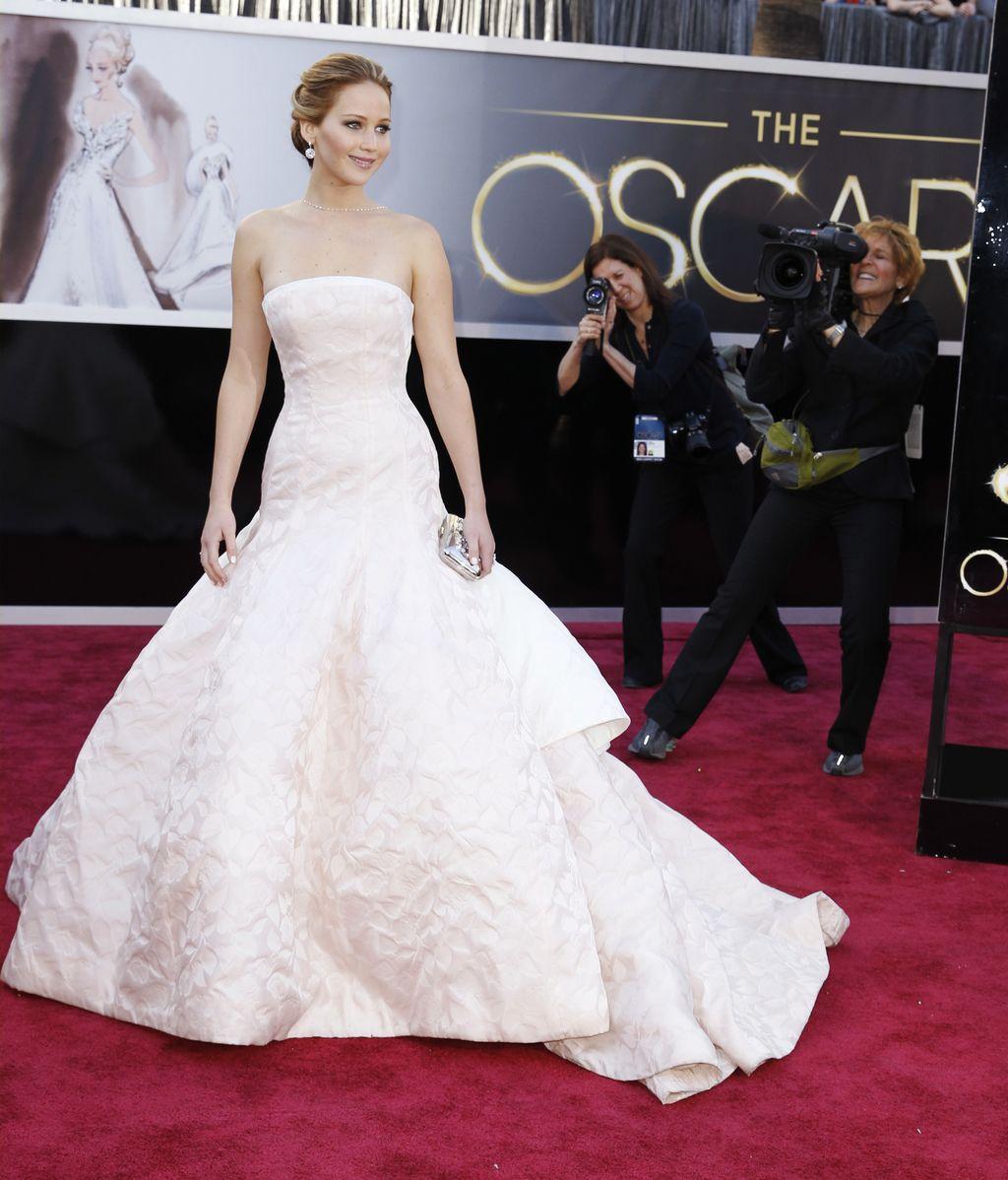 Jennifer Lawrence, nominada como mejor actriz, de Dior