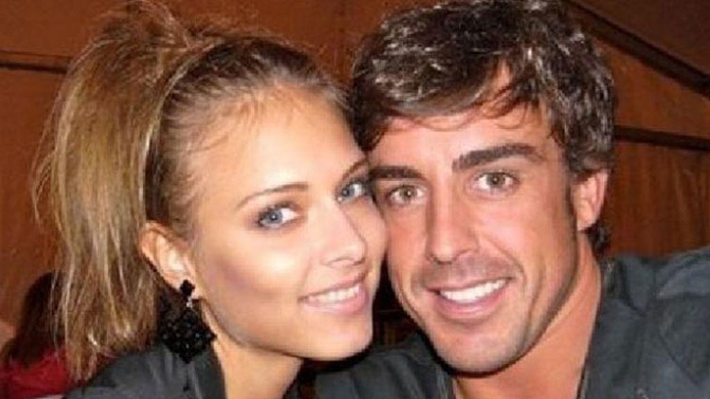 Fernando Alonso comienza su relación con Dasha Kapustina