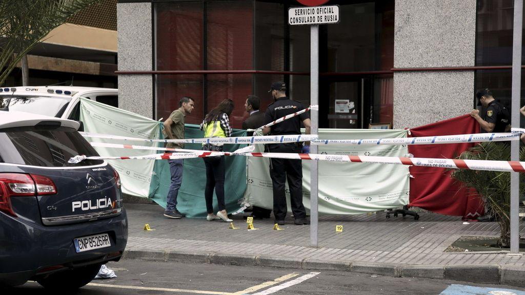 Investigan el hallazgo de un cadáver maniatado en una calle de La Palmas