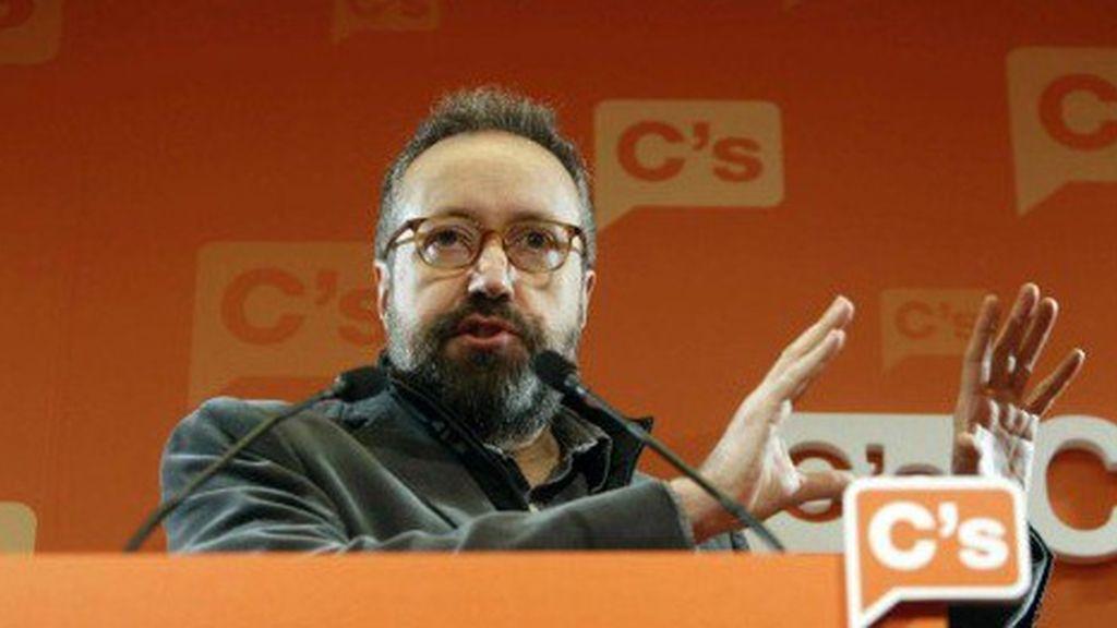Juan Carlos Girauta en rueda de prensa