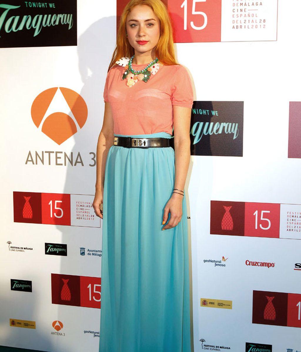 Elena Furiase, de las pocas que se salva en el Festival de Málaga