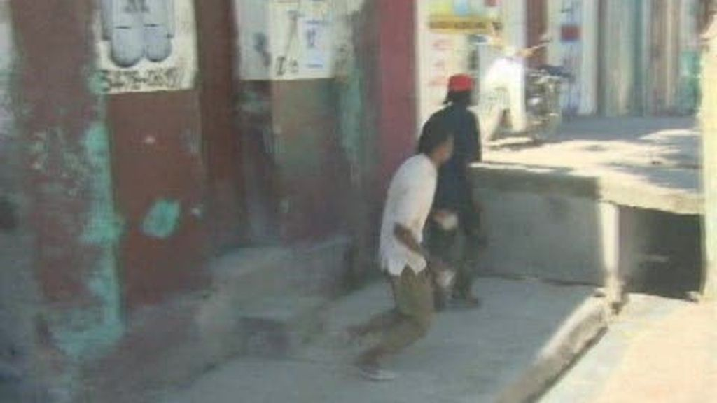 Haití vive una grave situación de enfrentamientos y cólera