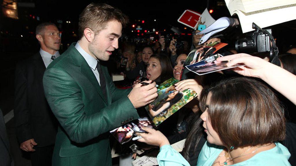 Pattinson con sus fans