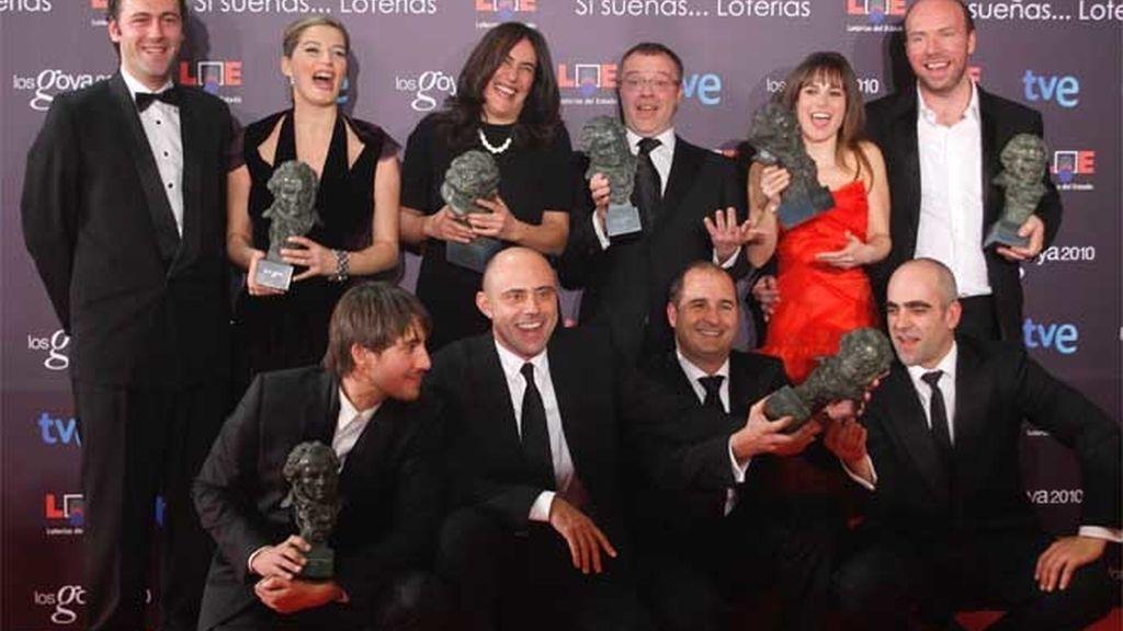 'Celda 211', los triunfadores de los Goya