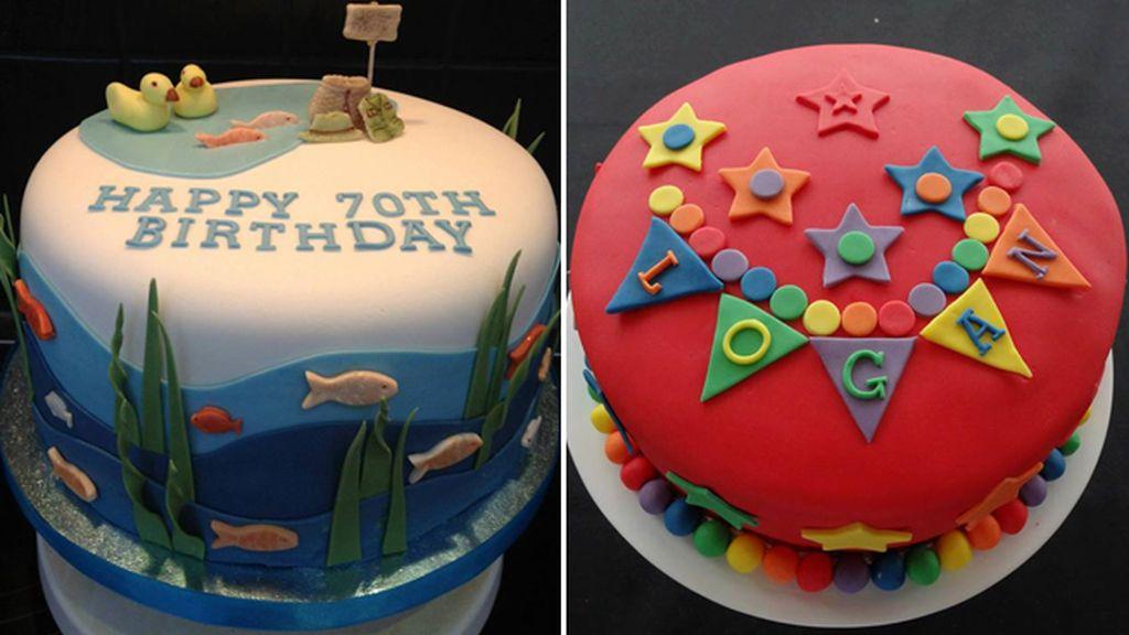 Algunas de las más increíbles tartas y cupcakes