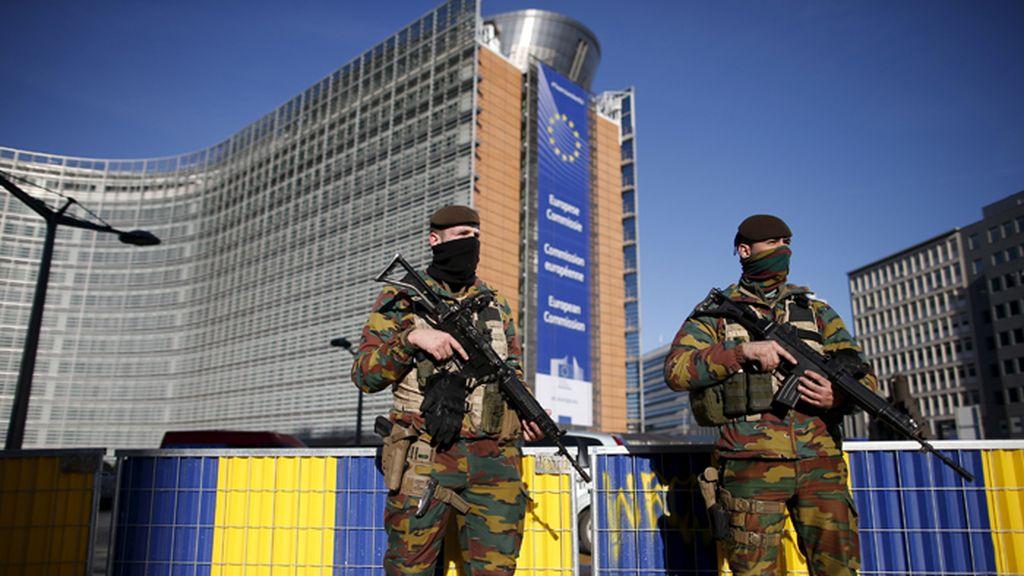 El ejército belga sigue colaborando en las labores de seguridad del país