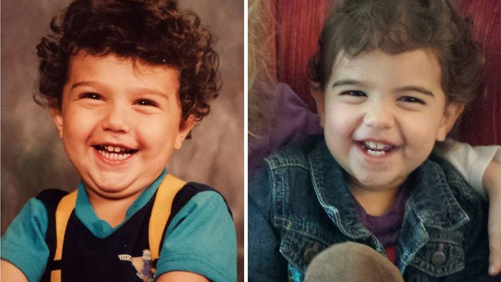 Sorprendentes parecidos a la misma edad