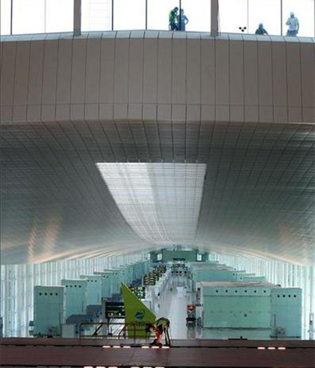 Un aeropuerto que aumenta su capacacidad