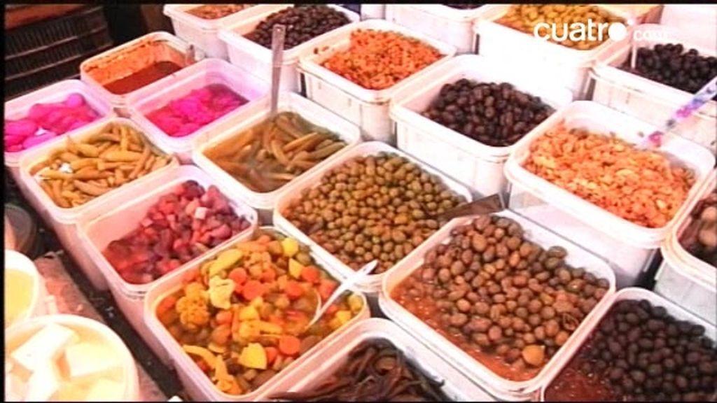 Jordania: De compras al mercado