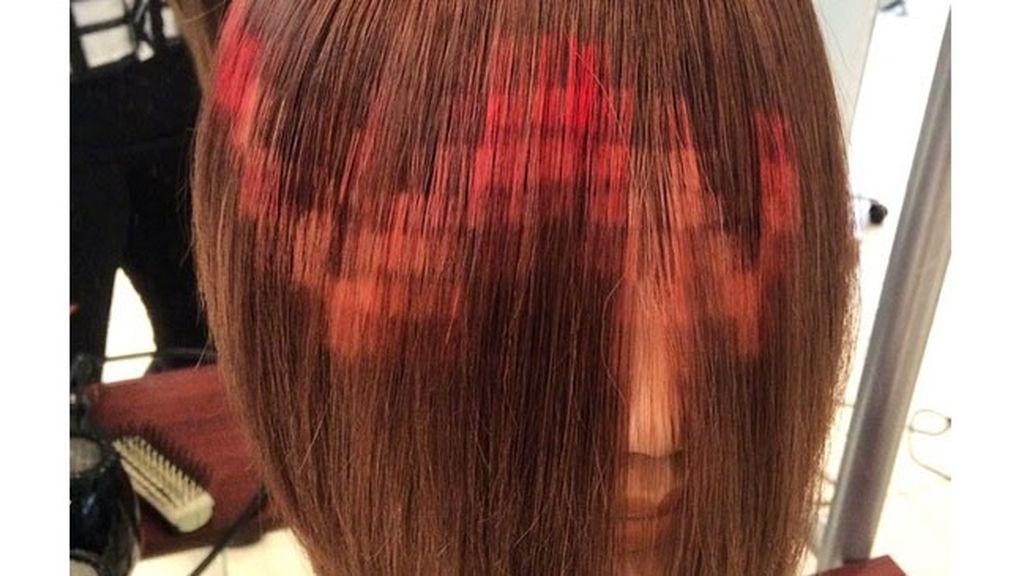 Del ordenador, a tu cabeza: La nueva tendencia de 'pixelarse' el pelo