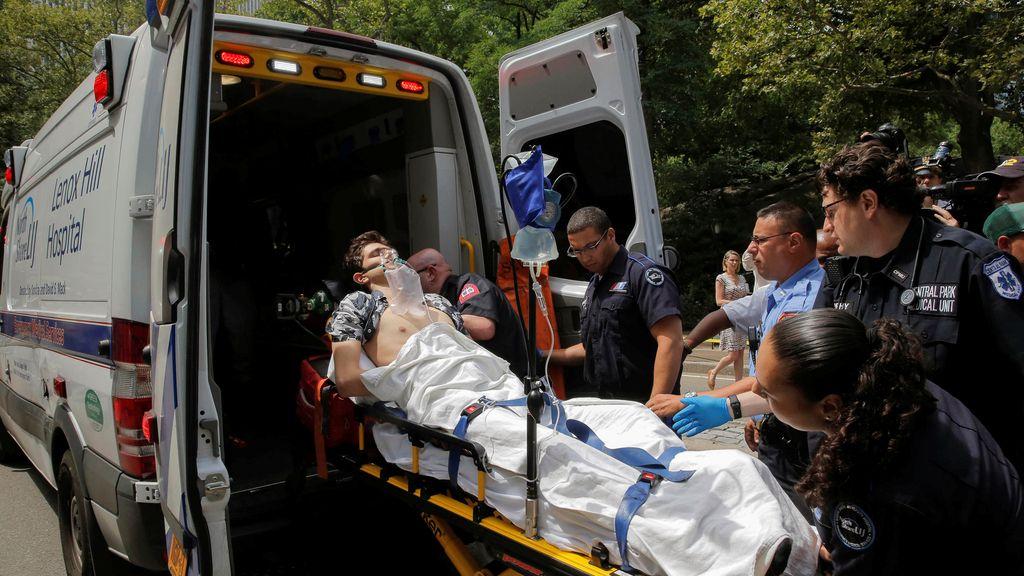 Explosión en Central Park