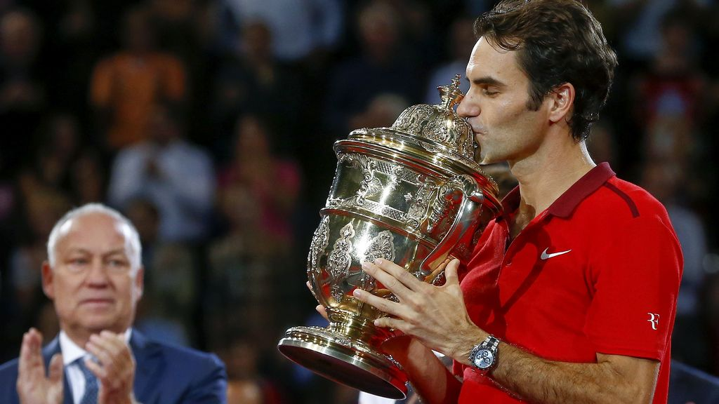 Federer vuelve a reinar en Basilea