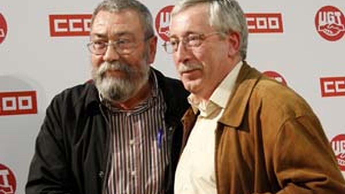 Méndez y Toxo, en una foto de archivo. Foto: Gtres