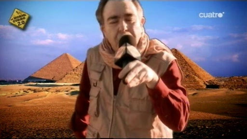 El Hormiguero Nius manda un reportero a Egipto