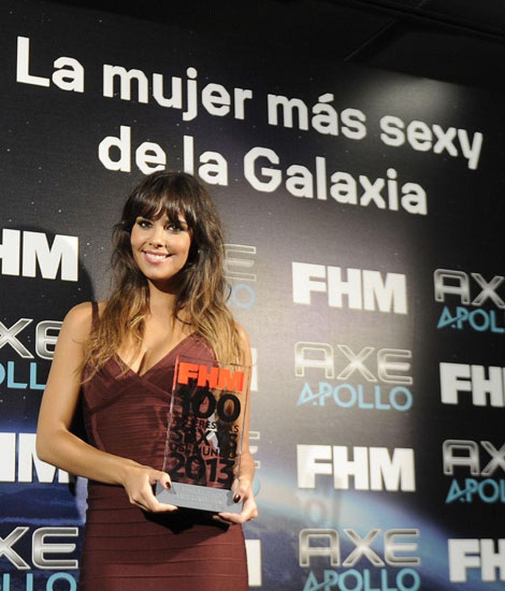 Cristina Pedroche mostró con orgullo su premio