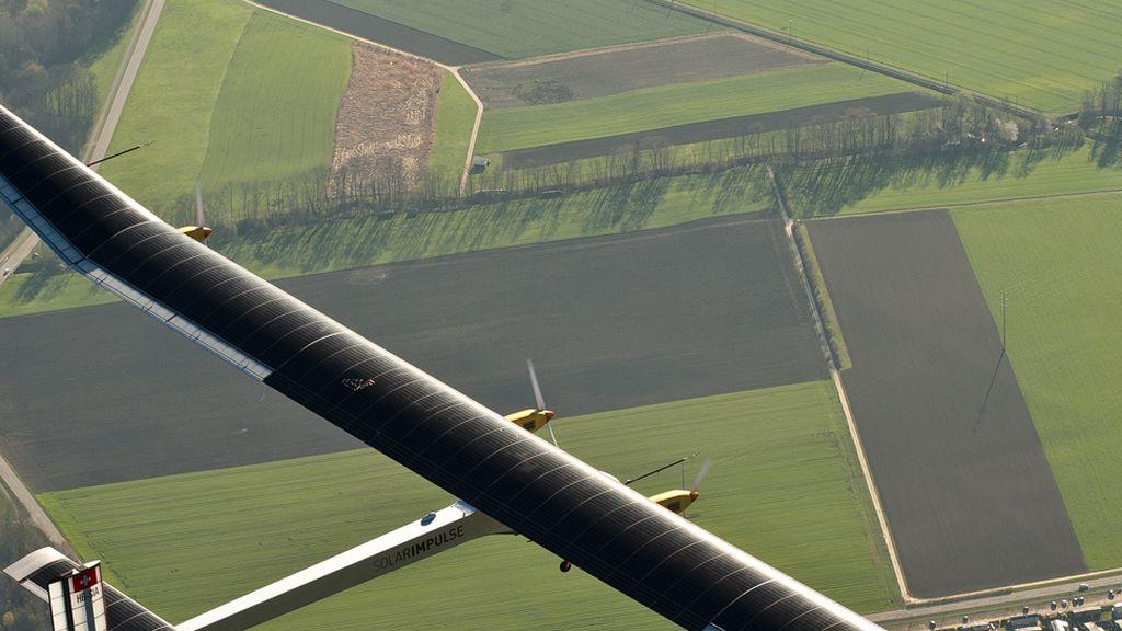 avion solar, avión solar impulse