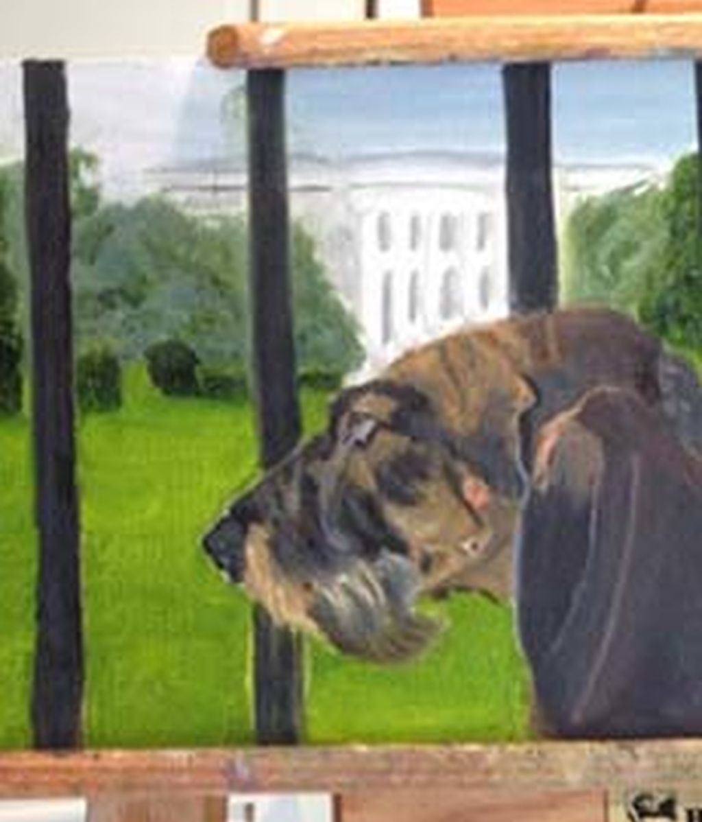 El lado más pictorico de Bush