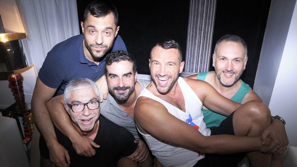 Julio Florero, Juanjo Navarro, Jesús Alicante y Toma toma y Hanibal