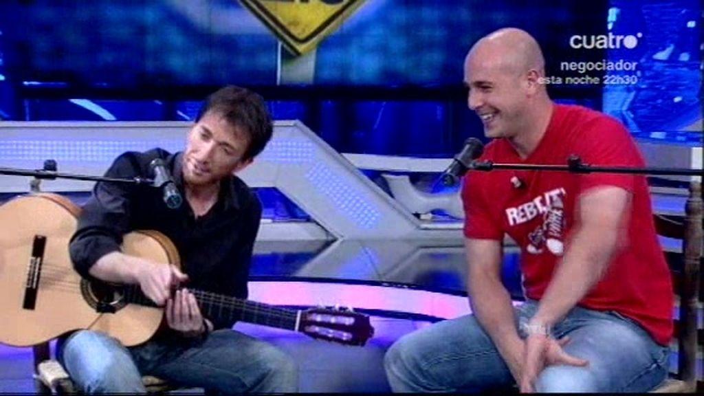 Pablo Motos y Pepe Reina, 'a su manera'