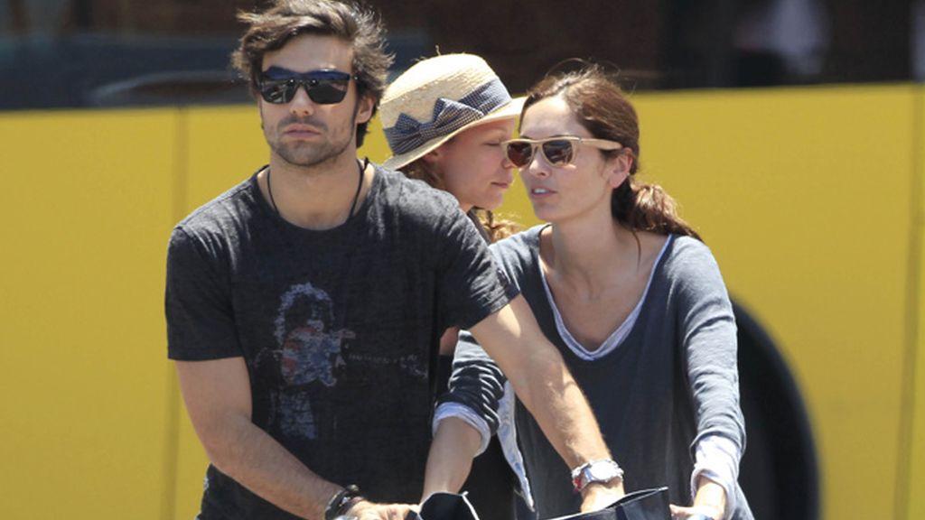 Eugenia Silva y Diego Osorio, al menos en Ibiza, sí están juntos