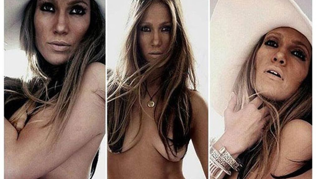 Jennifer Lopez, al desnudo