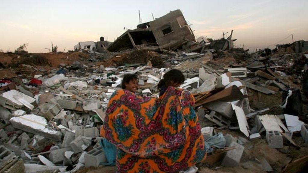 Sobre las ruinas de Gaza