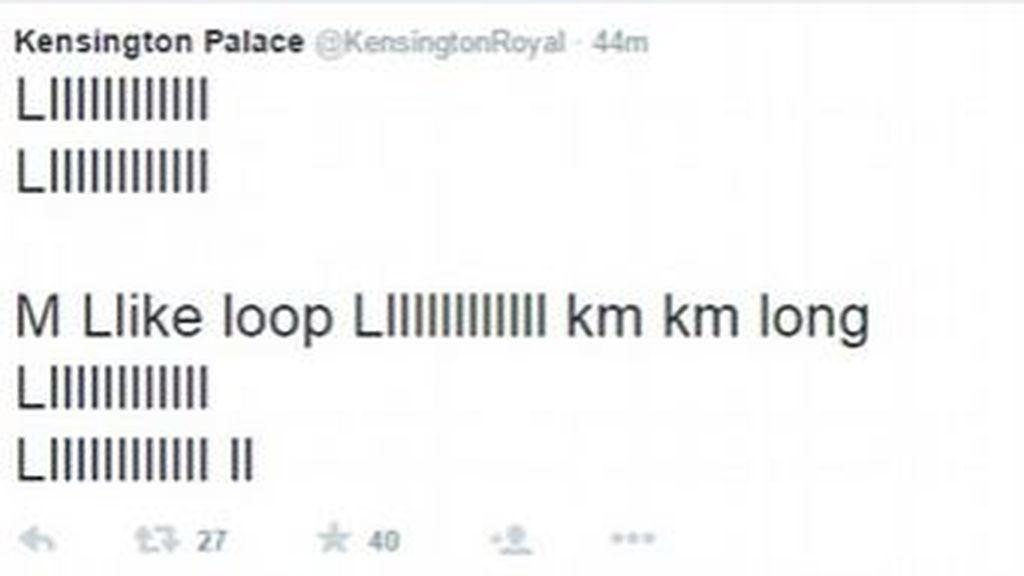 Un 'pequeño' hacker se cuela en la cuenta de Twitter del Palacio de Kensington