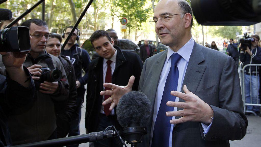 Pierre  Moscovici, ministro de Economía de Francia