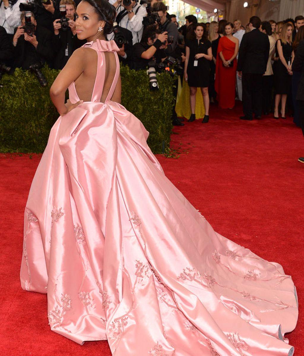 Kerry Washington vestida de Prada