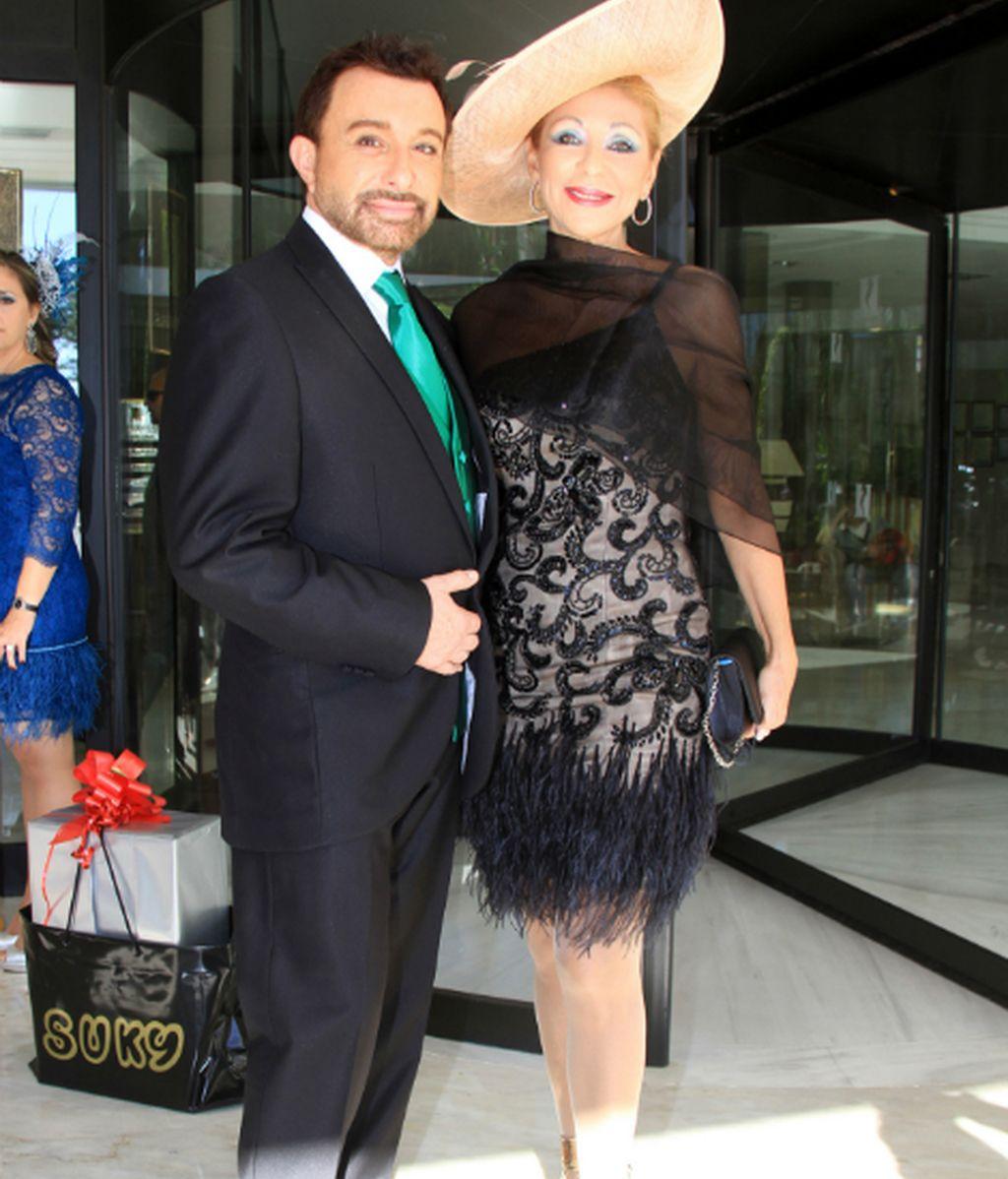 José Manuel Parada acudió acompañado de Jenny Llada