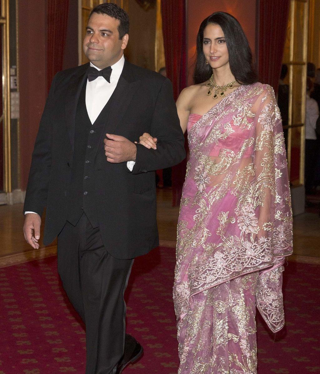 Así vistieron los invitados a la cena de gala