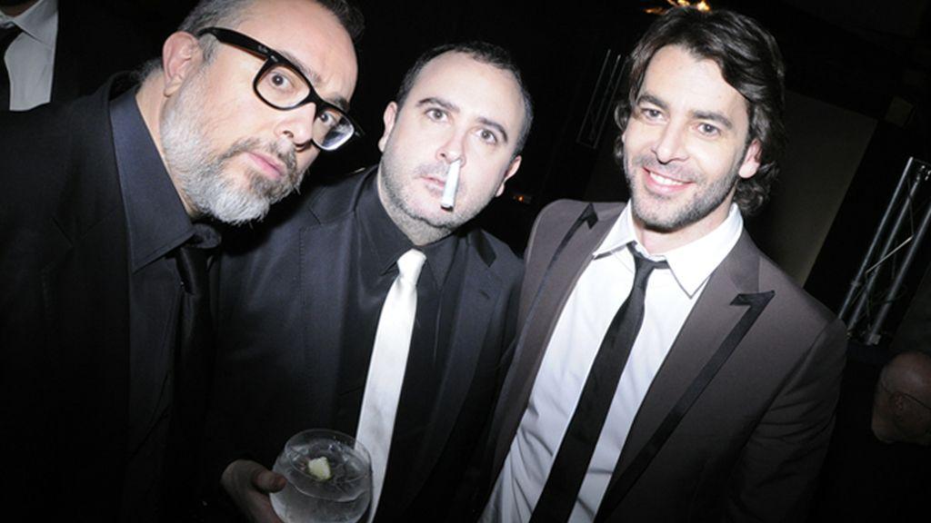 Los ganadores del Goya salen a celebrar el éxito