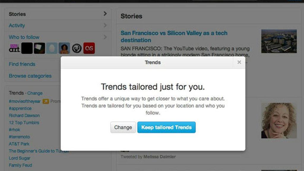 Twitter comenzará a utilizar una nueva forma para elaborar los Trending Topics.