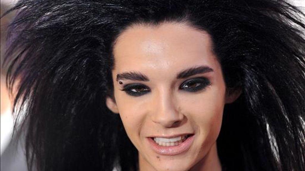 El cantante alemán Bill Kaulitz, de la banda Tokio Hotel. EFE/Archivo