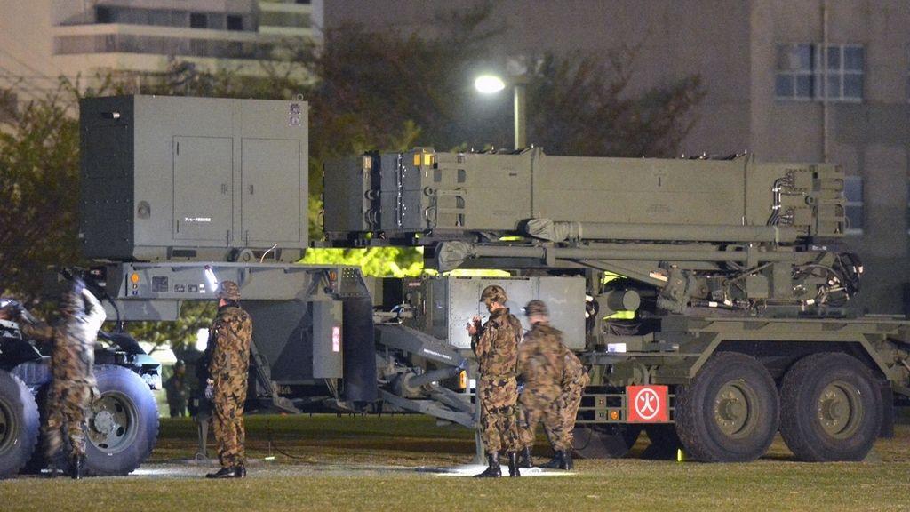 Japón prepara las baterías antimisiles ante un eventual ataque de Corea del Norte