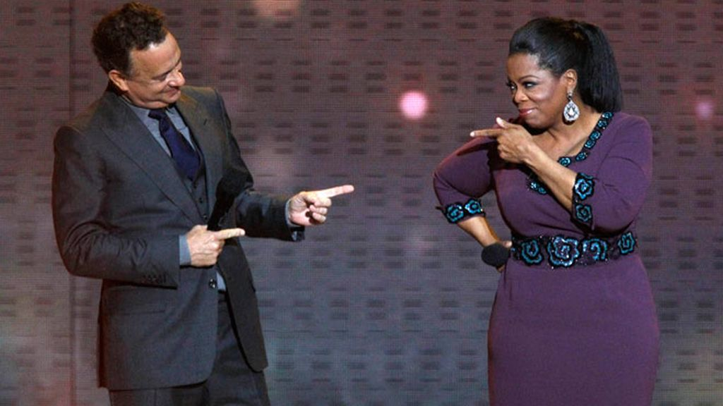 Famosos que homenajean a Oprah: Tom Hanks, Madonna, Will Smith y Halle Berry