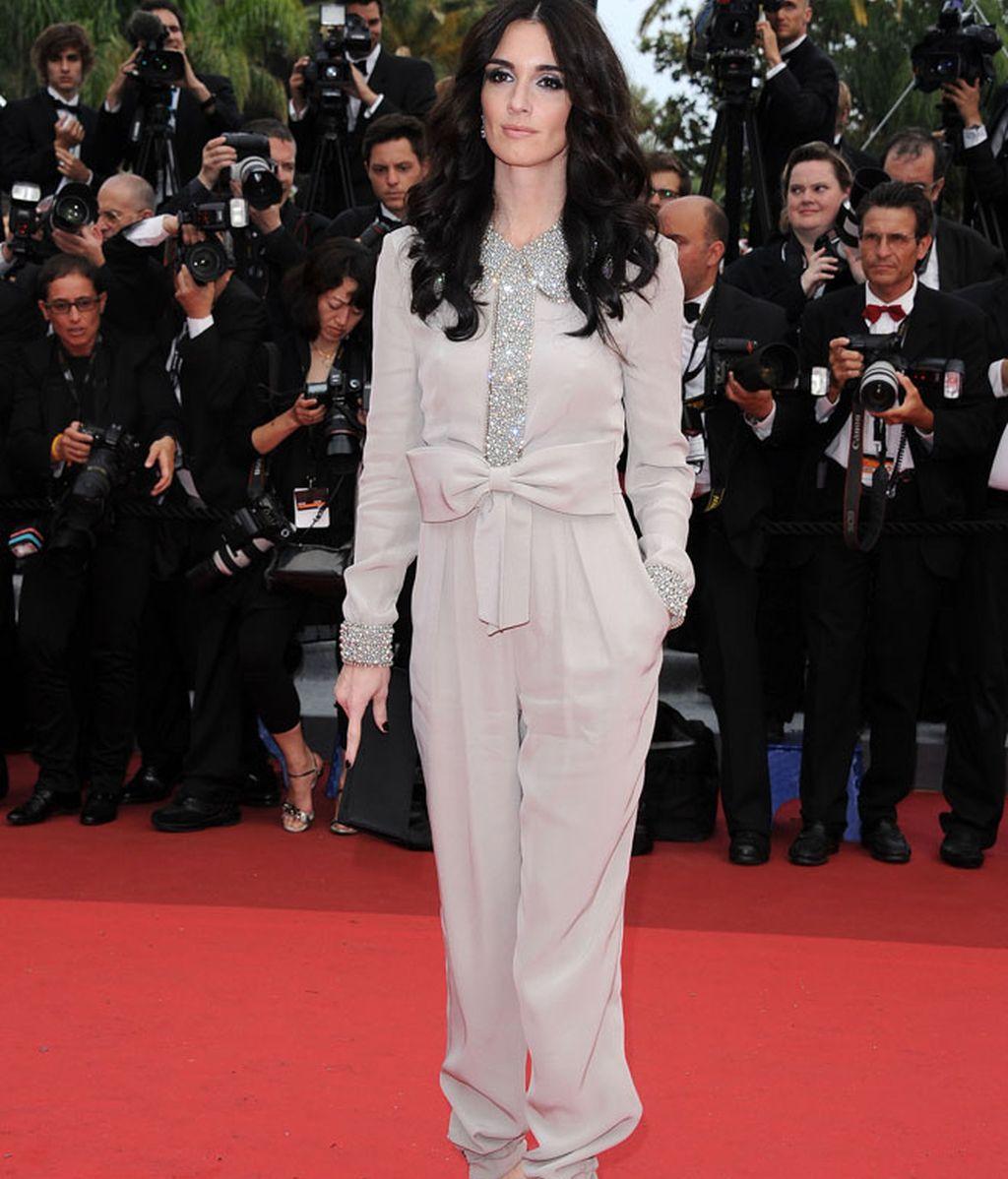 Paz Vega apoya a Penélope Cruz en Cannes
