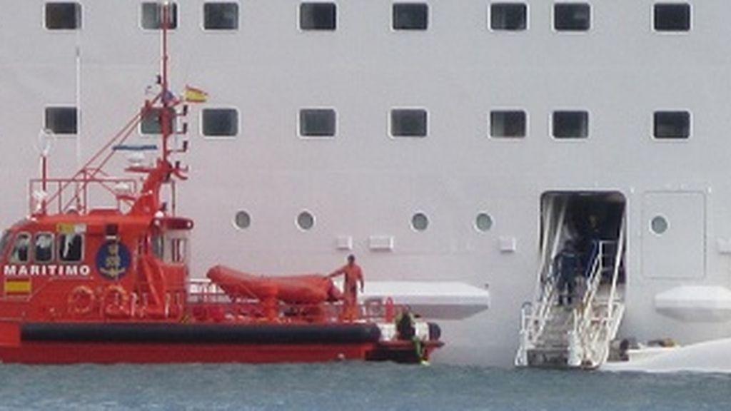 Cinco fallecidos en un simulacro en un crucero.